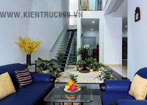 Tạo vườn cây xanh trong thiết kế nhà phố đẹp