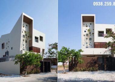 Thiết kế biệt thự 3 tầng đẹp với phong cách đương đại mới lạ.