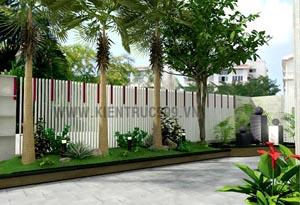 Những nguyên tắc thiết kế khu vườn theo phong thủy