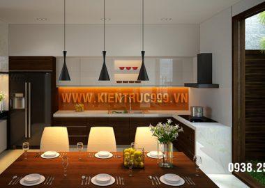 Vị trí đặt bếp hợp phong thủy trong thiết kế nhà ở