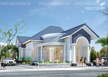 Mẫu thiết kế nhà đẹp 1 tầng  ở Gành Hào - Bạc Liêu được ưa thích !