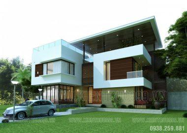 Biệt thự đẹp Gia Lai , Thiết kế biệt thự 2 tầng đẹp.