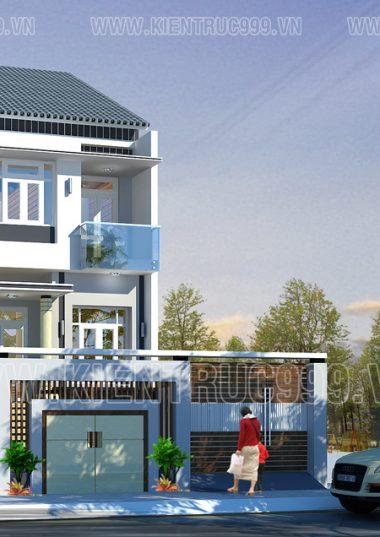 Biệt thự phố 2 tầng đẹp tại Buôn Mê Thuột - ĐakLak