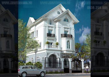 Biệt thự tân cổ điển đẹp - Gò Vấp- TPHCM