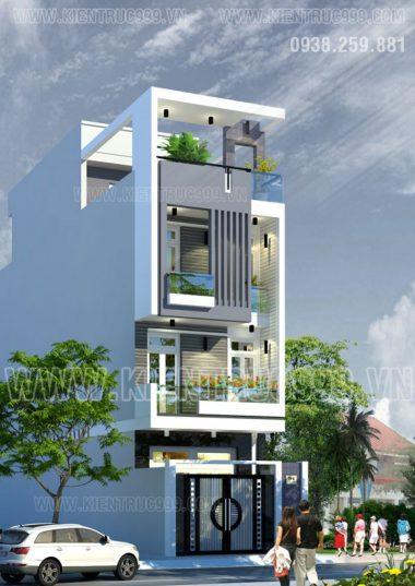 Nhà phố hiện đại khu dân cư Nam Long -Q9 . Chủ đầu tư : Anh Công