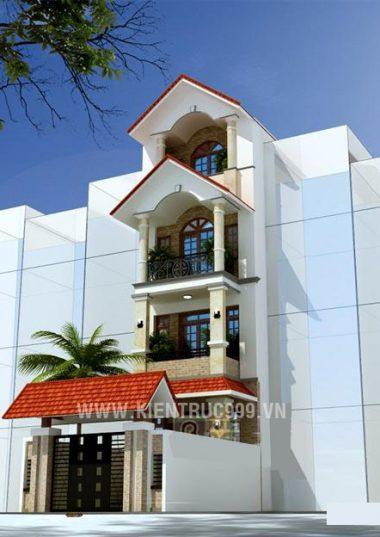 Nhà phố phong cách cổ điển -Nhà chú Minh - Đc: Tây Sơn-Bình Định