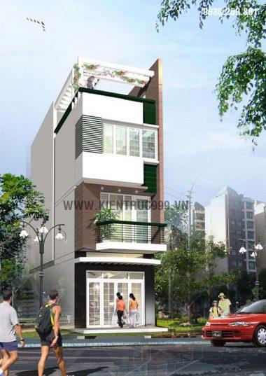 Nhà phố lệch tầng đẹp - quận Gò Vấp