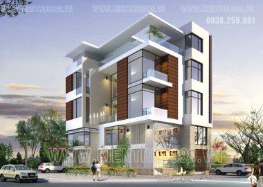 Tuyển chọn một số mẫu biệt thự 4-5 tầng hiện đại tuyệt đẹp 7-2015