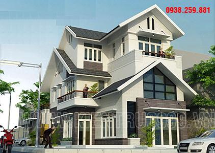 Biệt thự hiện đại Gia Lai, Một thiết kế biệt thự đẹp.
