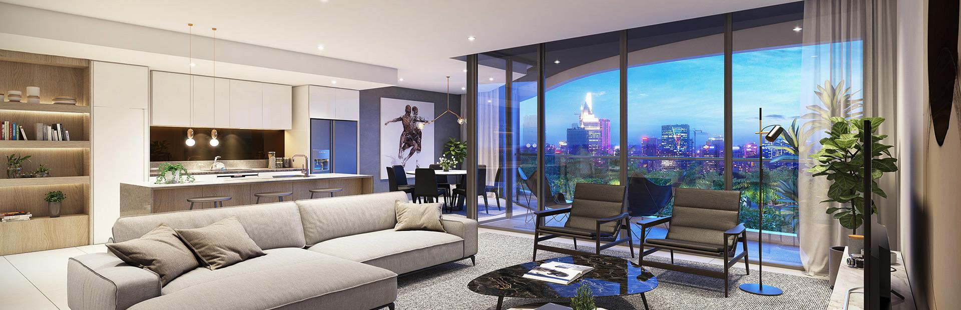 Thiết kế căn hộ đẹp Banner 2