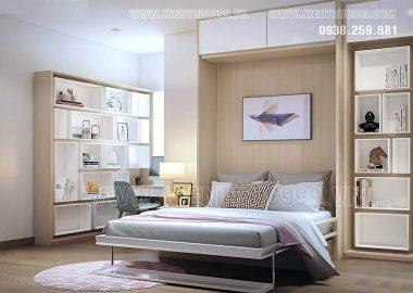 Khéo léo thiết kế nội thất căn hộ bỗng đẹp mười phân vẹn mười.