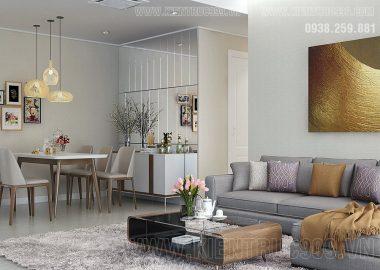 Nội thất hiện đại trong căn hộ quận 8 thỏa mãn chốn an cư bình yên hạnh phúc!
