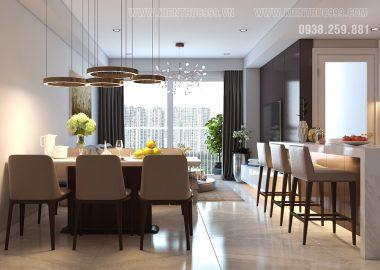 Thiết kế thi công căn hộ chung cư quận 7-Tphcm