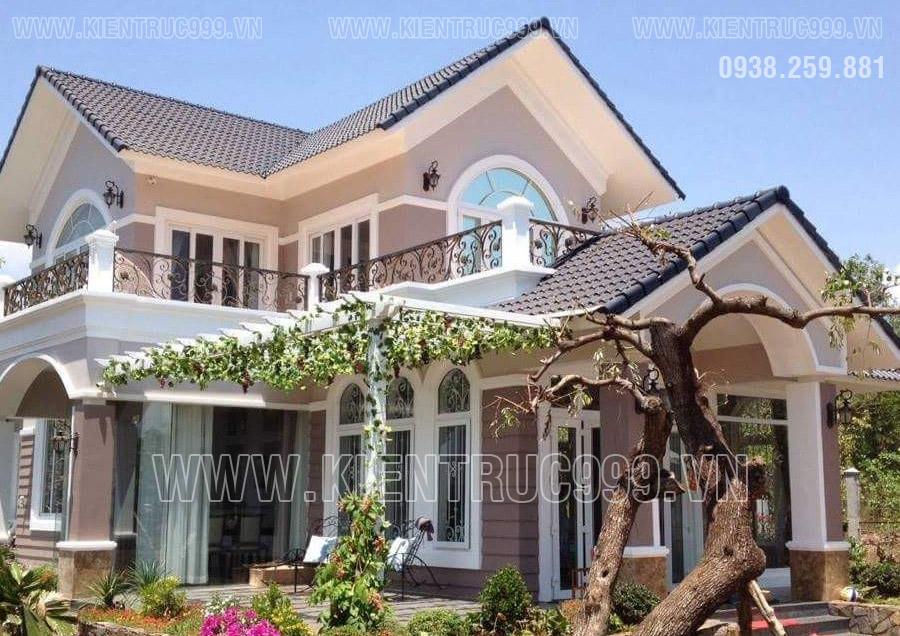 7 mẫu nhà đẹp 2 tầng mái Thái được xây dựng nhiều nhất năm 2017