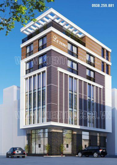 Giới thiệu 3 mẫu thiết kế nhà góc phố  2 mặt tiền kết hợp làm văn phòng công ty.