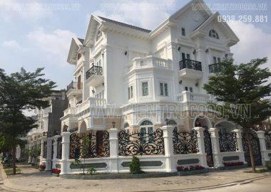 Thiết kế xây nhà đẹp , biệt thự tân cổ điển đẹp khẳng định đẳng cấp sang trọng tinh tế.