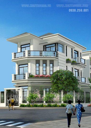 Chọn lọc 14 thiết kế nhà phố đẹp 2 mặt tiền hiện đại khó lỗi mốt