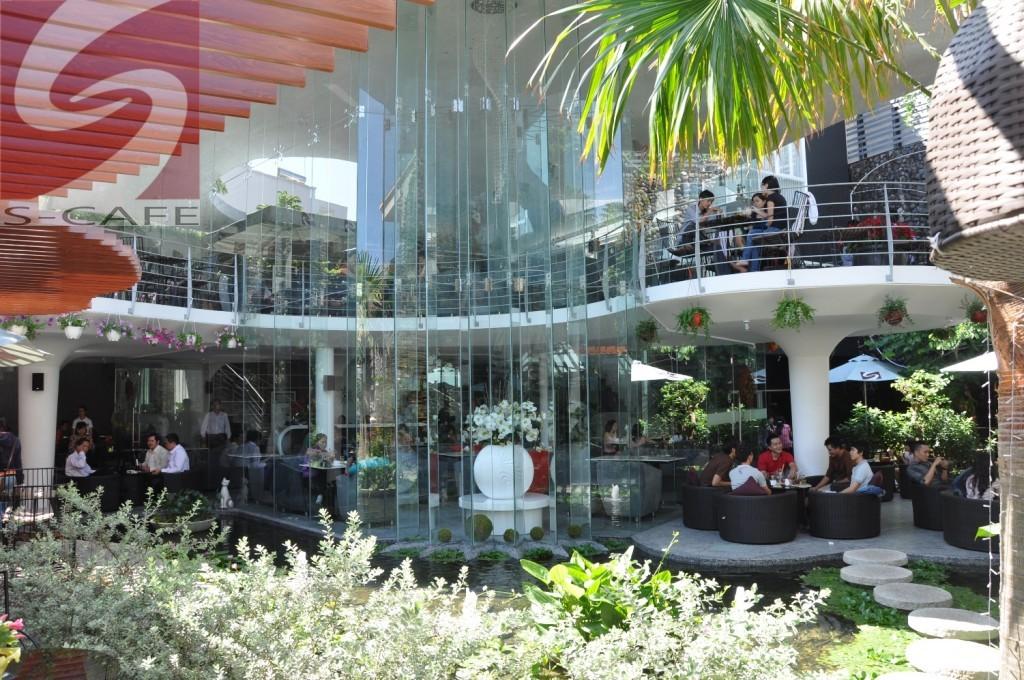 Scafe 2 Cafe đẹp ở Sài gòn: S cafe