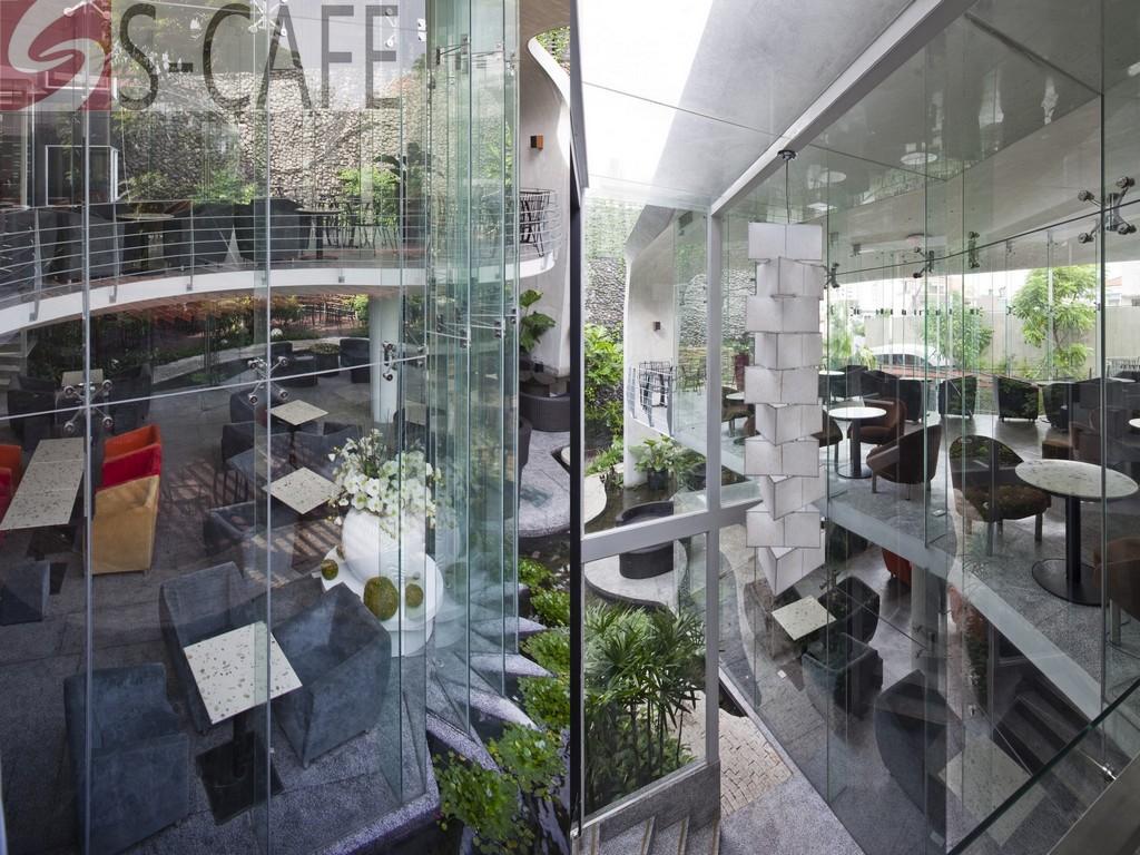 Scafe 3 Cafe đẹp ở Sài gòn: S cafe