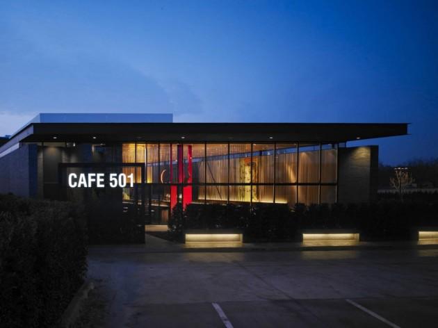 CAFE 501- QUÁN CAFE VỚI NỘI THẤT ĐẸP ẤN TƯỢNG / ELLIOTT + ASSOCIATES