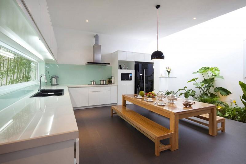 GoVap House- Thiết kế nhà ống 2 tầng đẹp ở Gò Vấp, nhà ống mặt tiền 8m đẹp.