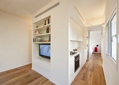 Giải pháp thiết kế cho căn hộ nhỏ, thiết kế nhà đẹp