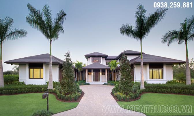 Trầm trồ với thiết kế biệt thự vườn đẹp sang trọng đẳng cấp .