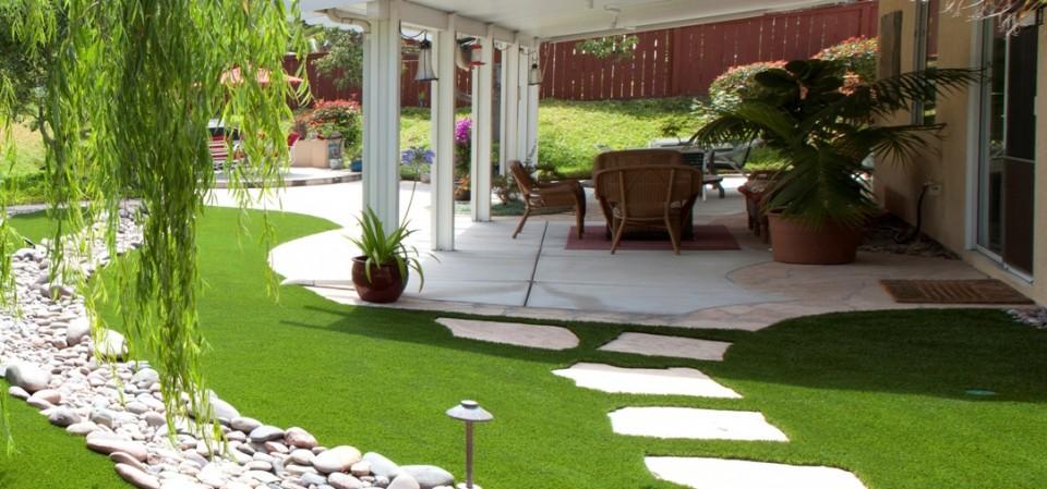 Thiết kế sân vườn hợp phong thủy