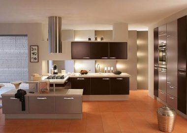 Nội thất phòng bếp đẹp mê mẩn.