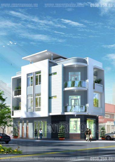 Nhà phố đẹp 2 mặt tiền , 3 tầng trên khu đất 5.5 x 15.5m ở Buôn Mê Thuột 2