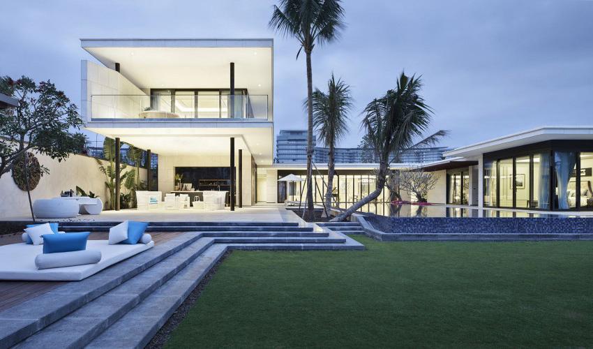 Biệt thự nghỉ dưỡng hiện đại đẹp lộng lẫy bạn phải chiêm ngưỡng