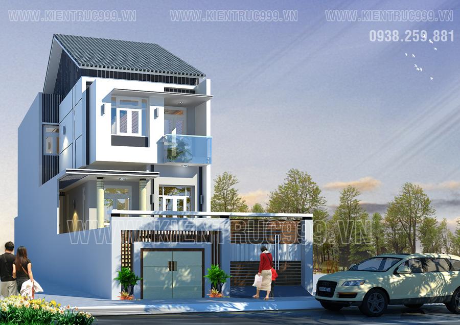 biệt thự phố 2 tầng trên đường Ngô Quyền Tpbmt Đaklak