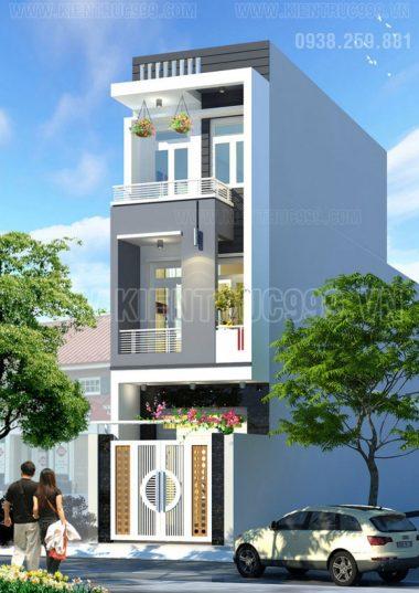 Nhà phố 3 tầng đẹp - ĐHT31- Quận 12-TPHCM