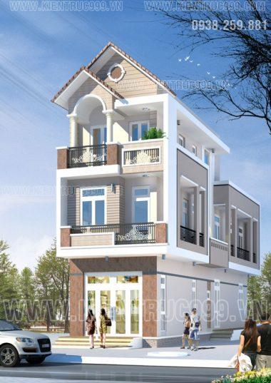 Nhà phố 2 mặt tiền đẹp mang dáng dấp cổ điển- Q12- TP.HCM