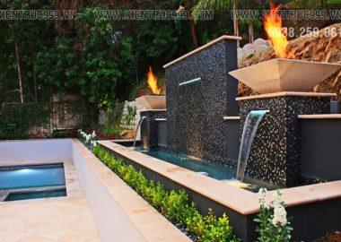 21 thiết kế thác nước hiện đại trên tường độc đáo