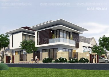 Mẫu nhà 2 tầng đẹp hiện đại đơn giản hút hồn ở Quảng Ngãi
