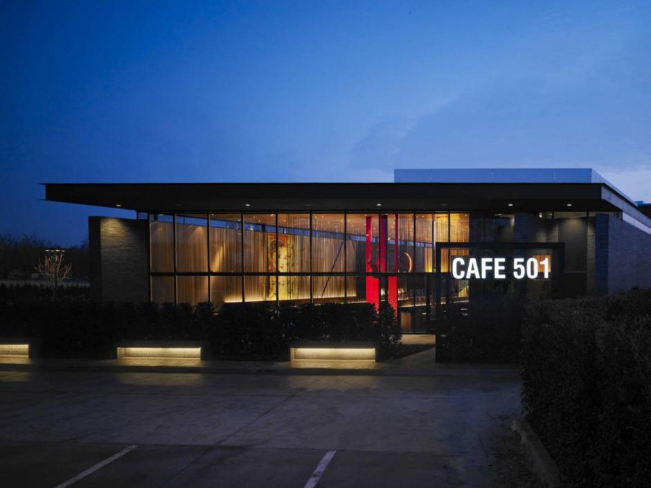 Thiết kế quán cafe đẹp với nội thất ấn tượng - cafe 501