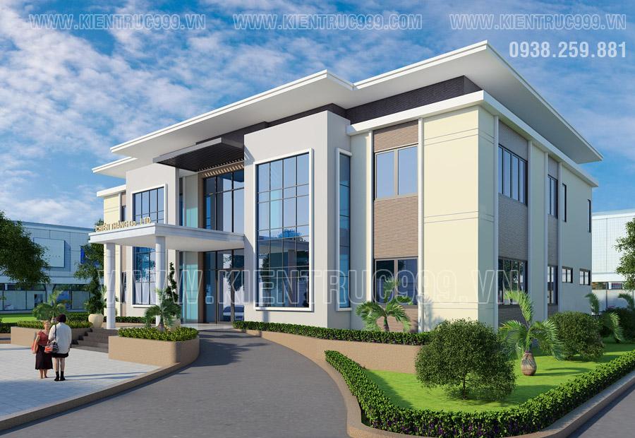 Nhà văn phòng hiện đại và đẹp sẽ giúp tạo ấn tượng tốt với đối tác và khách hàng