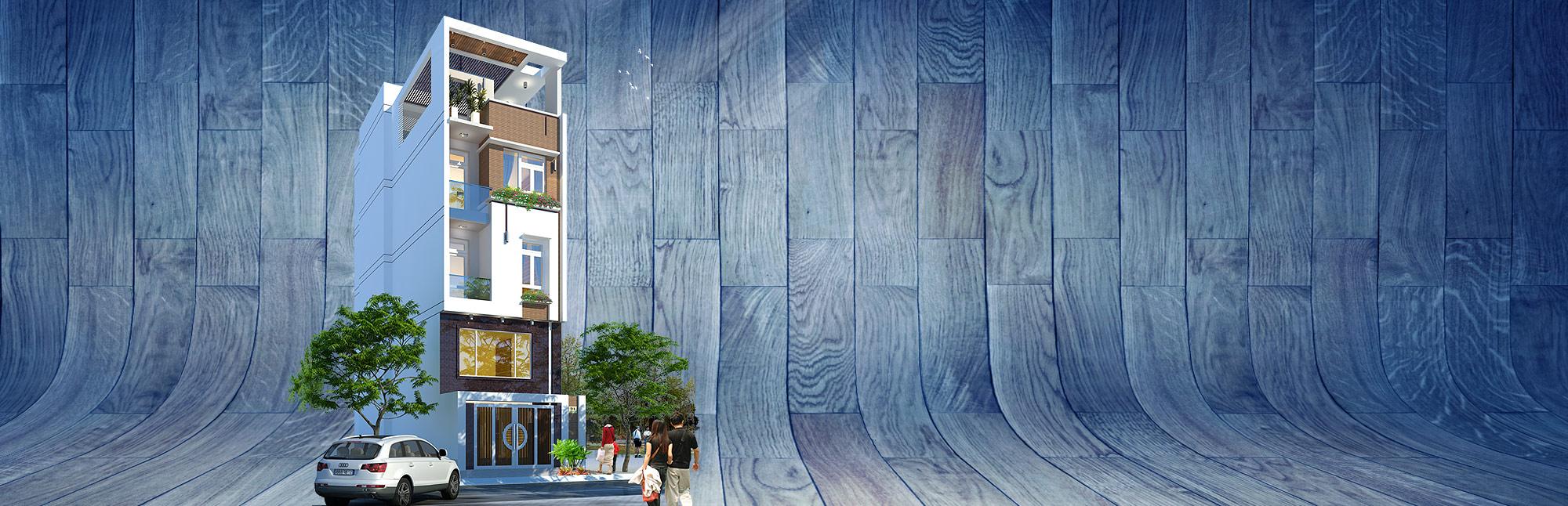 Thiết kế nhà phố đẹp 2017