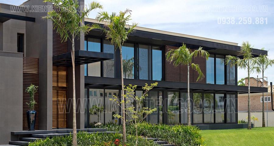 Kiến trúc tòa nhà điều hành 2 tầng hiện đại cuốn hút, ấn tượng ở mọi góc view