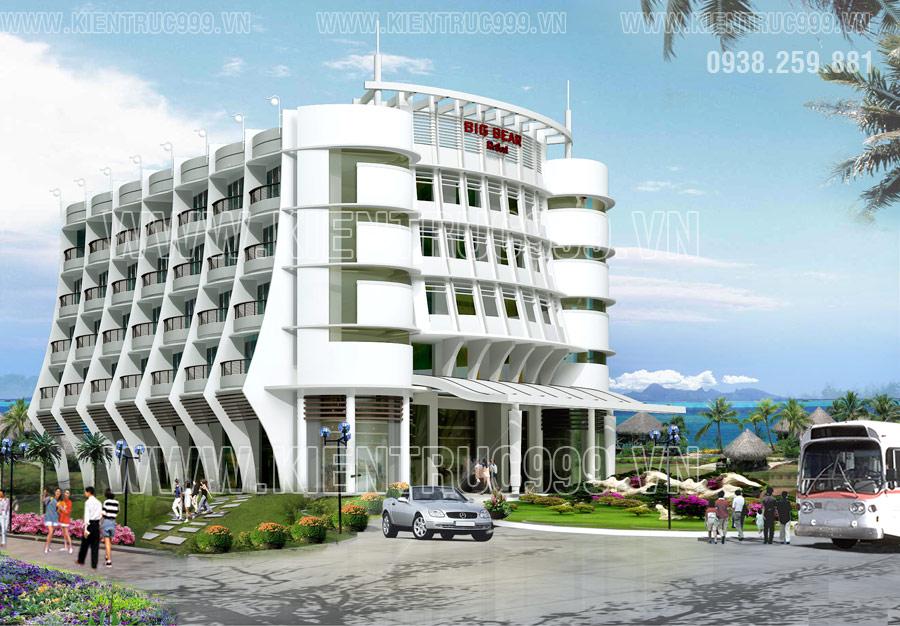 Thiết kế khách sạn Big Beer - Công ty dệt may Thành Công-Hàm Thuận Nam-Bình Thuận