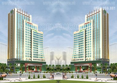 Thiết kế khách sạn Green World Hotel Vũng Tàu.