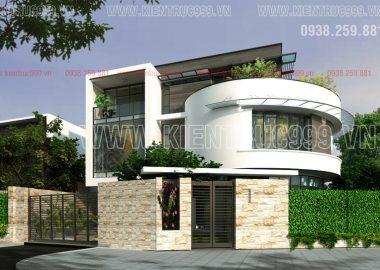 BST mẫu thiết kế nhà đẹp, biệt thự đẹp, biệt thự sân vườn 3 tầng mái bằng hiện đại năm 2017