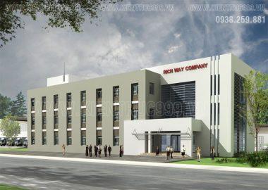 3 mẫu thiết kế nhà điều hành 3 tầng đẹp phù hợp cho các công ty, nhà máy , khu công nghiệp.
