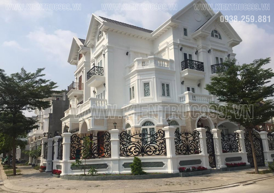 Biệt thự tân cổ điển đẹp Sài Gòn khẳng định đẳng cấp.