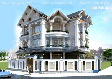 5 thiết kế nhà đẹp biệt thự có sảnh chính ngay góc đẹp ngỡ ngàng.
