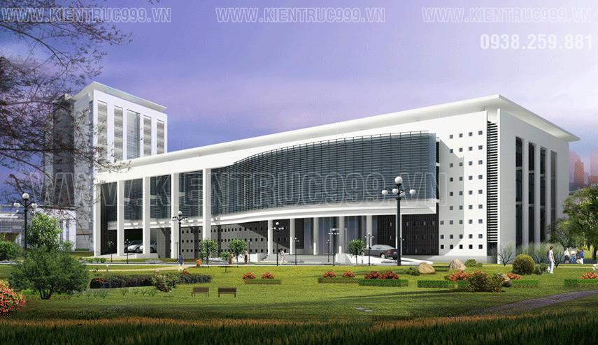Tòa nhà văn phòng 3 tầng phải phục vụ tối đa nhu cầu sử dụng của nhân viên