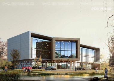 Tuyển chọn các thiết kế nhà văn phòng 3 tầng đẹp nhất