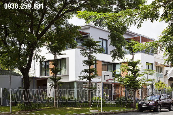 Ngôi biệt thự hiện đại 3 tầng ở Tân Phú Sài Gòn nhìn qua 1 lần là nhớ, nhớ mãi