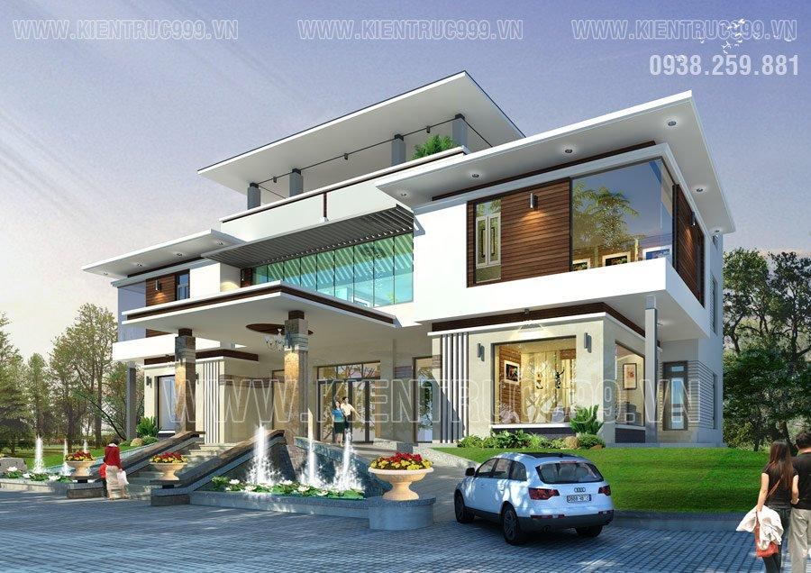 Ngôi nhà thịnh vượng- Hình dáng mái nhà hợp với thân nhà